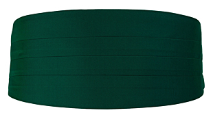 SOLID Dark green magebelte