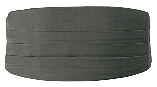 SOLID Dark grey magebelte