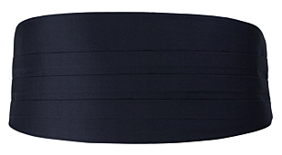 SOLID Dark navy magebelte