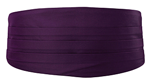 SOLID Dark purple magebelte