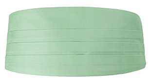 SOLID Pastel green magebelte